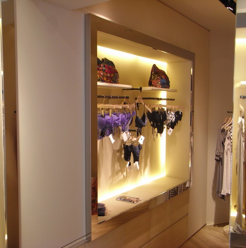 Dettaglio negozio abbigliamento